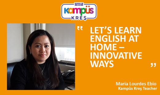 Let's Learn English at Home – Innovative Ways!