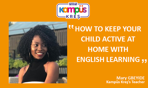 How To Keep Your Child Active At Home With English Learning